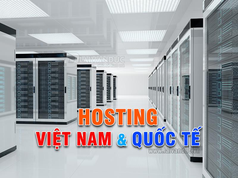 Hosting Việt Nam & Hosting Quốc Tế | Nên dùng ở đâu ?