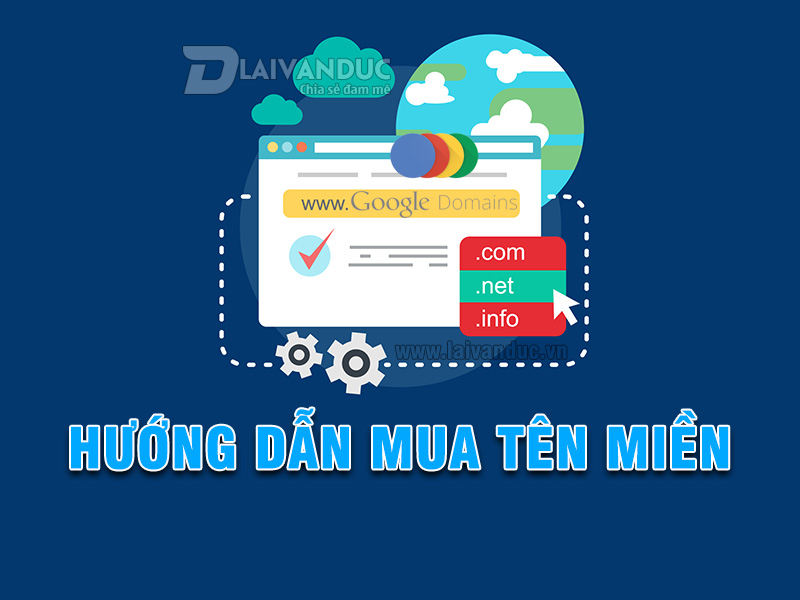 Hướng dẫn mua tên miền tại Google Domain