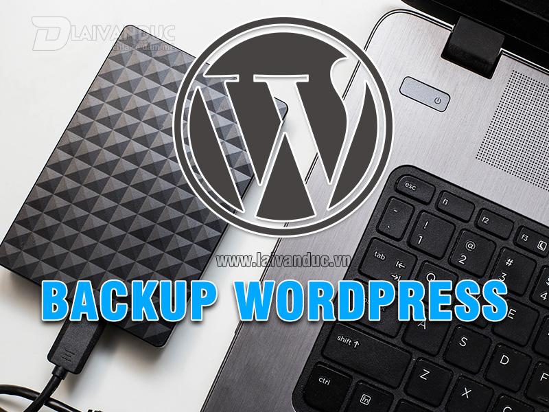 Backup WordPress thủ công trên Hosting Cpanel chi tiết