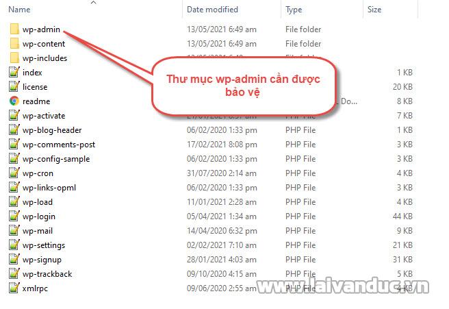 Chặn truy cập thư mục WP-Admin bằng .htaccess