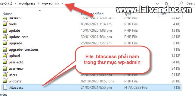 Thực hiện bảo vệ thư mục WP-Admin bằng .htaccess