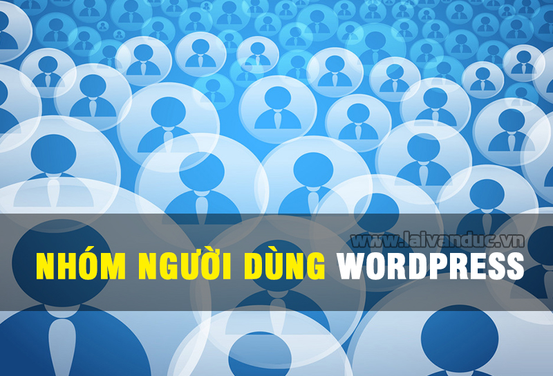 Nhóm người dùng trong WordPress (USER ROLE)