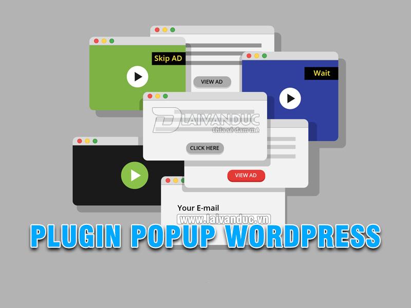 Plugin Popup WordPress miễn phí tốt nhất cùng 5 sự lựa chọn