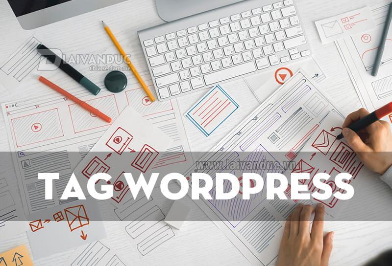 Tags WordPress   Quản lý Thẻ Tag trong WordPress
