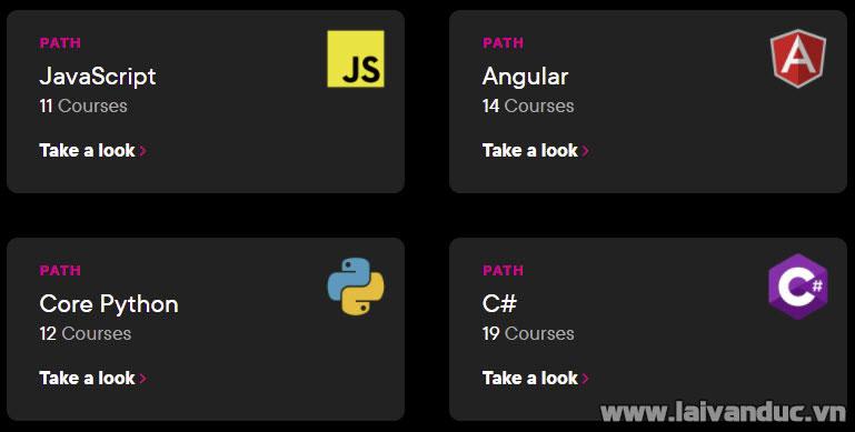 Tự học lập trình với Plural Sight