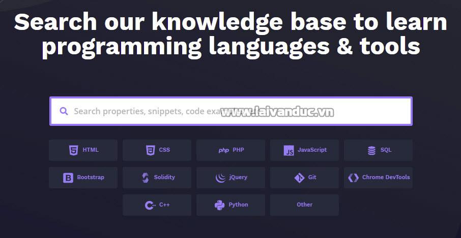 Tự học lập trình với BitDegree