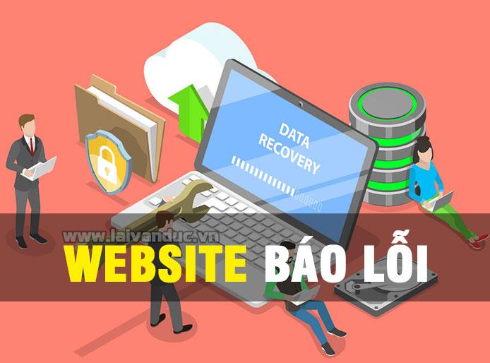 Website báo lỗi và những vấn đề thường gặp nhất