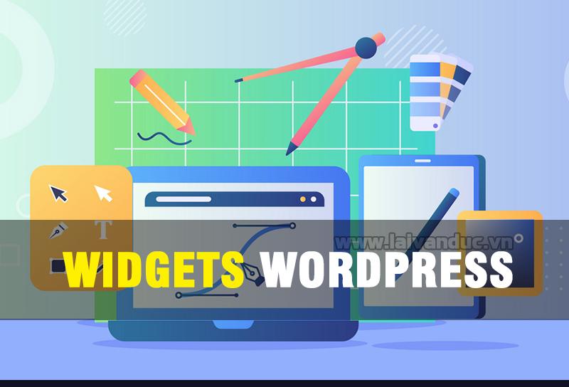 Cách sử dụng Widgets WordPress cơ bản