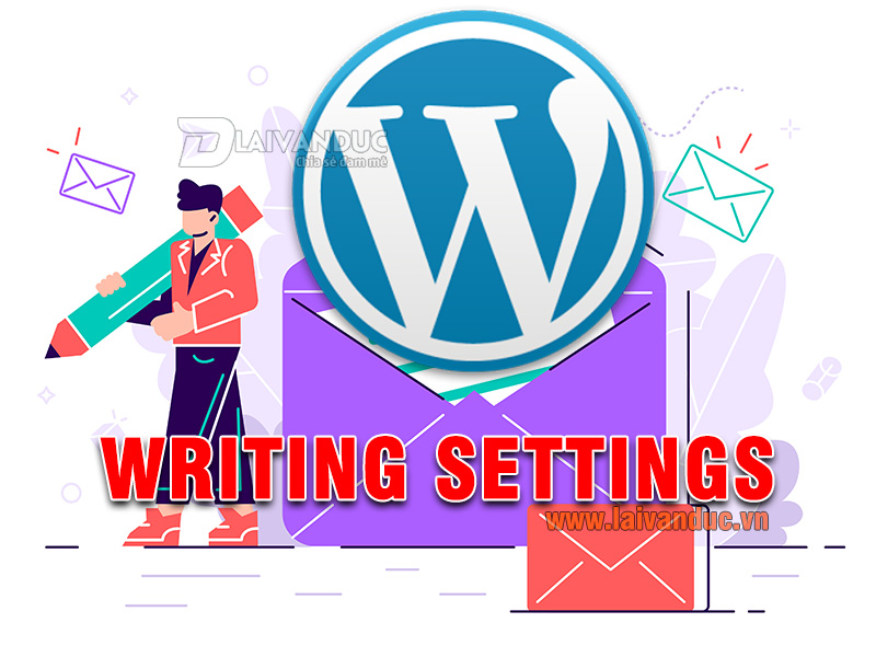 Writing Settings | Cài đặt Viết trong WordPress